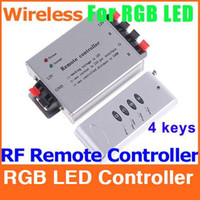Wholesale RGB LED Controller LED Strip Light Wireless RF Remote Controller Keys control