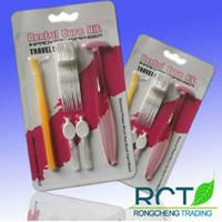 Wholesale oral kit dental kit personal care Dental floss card