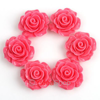 Wholesale 120 Plum Resin Rose Shaped Charms Flat Back Beads Cabochons mm Fit Jewelry DIY