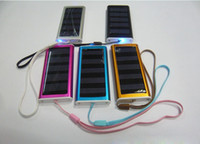Wholesale Solar Energy Solar Panel Charger Mobile Phone Charger Multifunctional Emergency Charger Colors