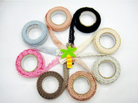 Wholesale DIY Fashion Fabric Lace Tapes Adhesive Tape Cute Decorative Sticker Creative Stationery