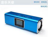 Wholesale 10pcs Colorful Mini Music Speaker Sound box Boombox with TF slot and USB FM Radio Music Angel UK5