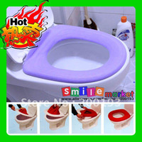 Wholesale Hot pieces SOFT and COMFORTABLE Toilet Seat Cover Random Send Colors Have larg