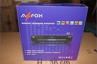 Receivers 数字卫星机顶盒  Azfox s2s HD Digital Satellite Receiver Set top box full HD 1080P 8pcs lot free shipping