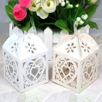 Wholesale laser cut box favor box gift box
