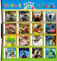 Wholesale 275 in Game in one card Multi Games Card Cars for DS DSI DSXL DS DSLL