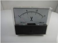 Купить Аналоговой панели вольтметр-Аналоговый Вольт Напряжение Вольтметр метр панели DC 0-15V