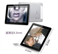 Wholesale 2pcs quot Teclast A10t IPS Capacitive Screen AllWinner A10 Ghz GB DDR3 Android GB Tablet PC