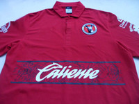 Wholesale 2012 Thailand Quality Club tijuana Soccer Football jerseys Mexican home red Mixed order
