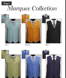 Wholesale 5 buttons satin groom vests men vests bridegroom vest custom size