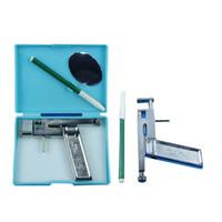 Piercing Kit ear body piercing gun - Professional Ear Nose Navel Body Piercing Machine Gun Tool Kit Set Case Body Art Supply