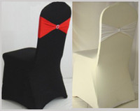 Wholesale Elegant Spandex Chair Cover Lycra Suit For Wedding Banquet Party Hotel Decorations High Quality