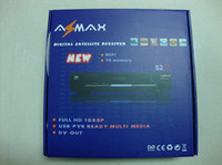 Wholesale New arrival receivers MPEG MPEG4 H amp Fully DVB azmax s2s set top box azbox