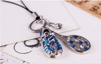 Wholesale Unique Jewelry Badminton Racket andTennis shoes Pendant Key Ring Keychain