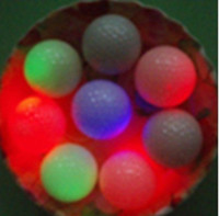 Wholesale High Quality Cute Flashing Golf Ball LED Golf Balls For Valentine s Day