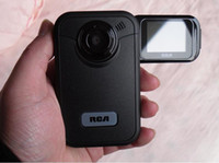 Wholesale RCA small camera EZ200 A USB Mini camera Pocket Digital video camera Camcorder quot folding