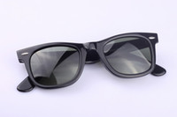 Wholesale Retail Fashion Wear Modern Super Flat Top Shades Retro Style Sunglasses Justin Bieber