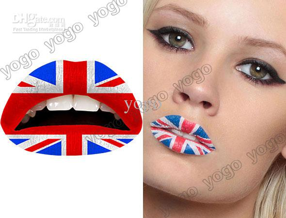 Sticker Tattoos Lip Tattoos Lips Sticker