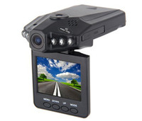 Wholesale Hot Car DVR HD TFT LCD screen Portable Car Video Recorder Camera IR LED Night vision