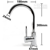 Wholesale Hot Cold Chrome Polished Finish Vessel Sink Faucet Tap Bathroom Mixer Basin New