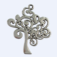 20Pcs Tibetan Silver TREE OF LIFE Charms A15998