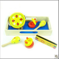 Wholesale Children s Toys Orff Instruments Instrument Set Sets Of wooden musical instruments musical instrum