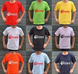 Customize T shirts Round Neckline colors optional good quality Cheap custom made t shirts work shirts Free Shipping