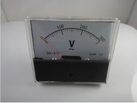 ac voltmeter panel - Analog Volt Voltage Voltmeter Panel Meter AC V