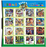 Wholesale 250 in Game in one Multi Games Card for dsi ndsl ds System