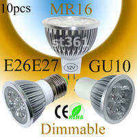 Wholesale Hot Sale MR16 GU10 E26 E27 E14 GU5 Dimmable LED Spot Light Bulb Spotlight Spot Lamp W x3W