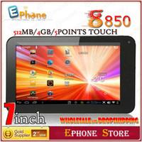Wholesale 7 quot VIA Tablet PC AllWinner Cortex A9 GHZ MB GB Capacitive HDMI WM8850 WiFi Upgrade Editi