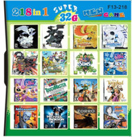 Wholesale 218 in Game in one card Multi Games Card Black and White Version do drop ship