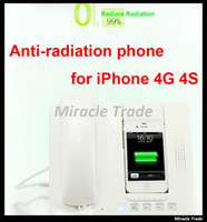 Wholesale Classic Home Office Desk Anti radiation Telephone Retro Phone with Handset for iPhone S