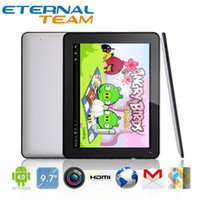 Wholesale 9 quot EKEN A90 Android tablet pc A10 GHz Dual camera HDMI IPS GB DDR3 GB