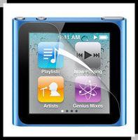 Wholesale 500sets for ipod Nano Screen Protector Clear Glossy Screen Guard Film for ipod Nano6