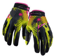Wholesale Hot Brand Motocross gloves moto bicycle dirt bike Bicycle gloves yellow High quality Yangze