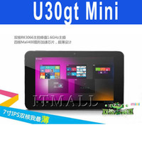 Wholesale Cube MINI U30GT Tablet PC RK3066 IPS Screen Android GB inch U30GT Dual core Win8 Metro UI