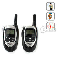 Wholesale Pair of Long Range Auto Multi Channel Way Radio Walkie Talkie Interphone Security Tools for Hiking