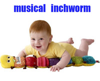Wholesale Lamaze Musical Inchworm plush toys Educational toy promotion