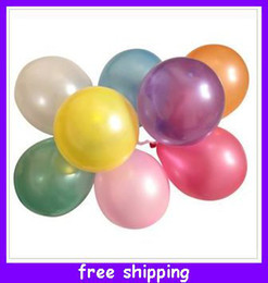 Wholesale New Christmas Party Air Balloon birthday wedding Mixed colors best gift lovely colorful good quality