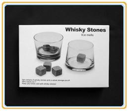 Whiskey Stone, whiskey rocks 9pcs set gift box,Christmas Valentine's Father's business gift