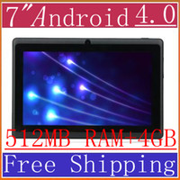 Wholesale Q8 of A13 inch Android flat panel computer N77 N10 MID tablet PC Allwinner PB07