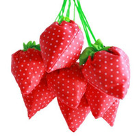 Wholesale Shopping bag Reusable bags Strawberry foldable bag