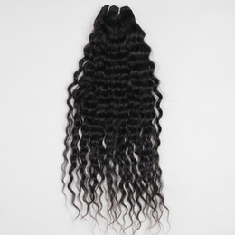 Wholesale cheap virgin human hair malaysian curly wave hair extensions weft weave DHL