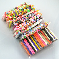 Fimo fimo canes - Hot selling New Nail Art Canes Stickers Rod Fimo Decorate Fruit