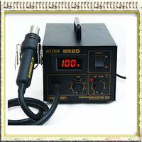 Torch   220V ATTEN AT852D SMD Rework Station Desoldering Station Hot Air Gun Heat Gun