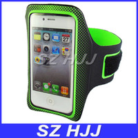 Wholesale For iphone4S G Water Proof Key Hole Sports Running Armband Holder Case