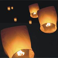 Wholesale Sky lantern Wishing Lanterns KongMing Lantern Flying Light Chinese Wish Light Flame