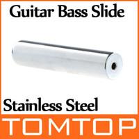 bass guitar accessories - Stainless Steel Chrome Tone Bar Guitar Lap Slide Guitar Accessories For Guitar Bass I133
