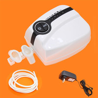 Wholesale Portable Makeup Mini tattoo Compressor Airbrush Airhouse Foothold Plug Kit white and black Color